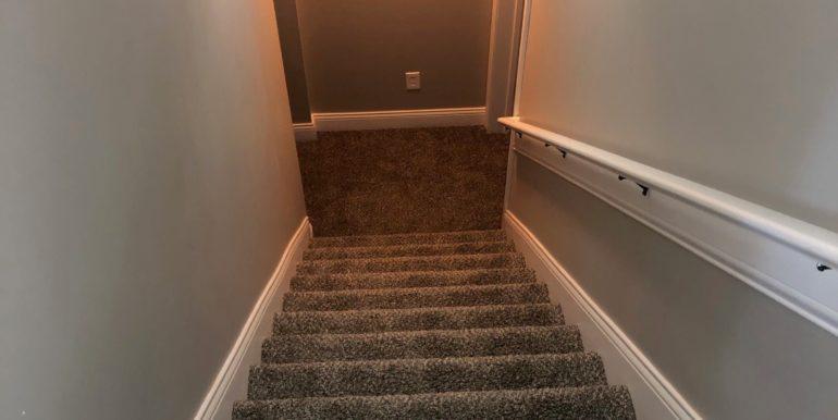 Shot Hunt stairs